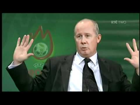 Republic of Ireland 2-2 Wales 17th November 2007 RTE Post-Match Analysis