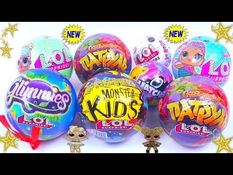 8 LOL NEW ЛОЛ ОРИГИНАЛ или Китайские ПОДДЕЛКИ Шарики с Куклами Fake LOL Dolls Surprise