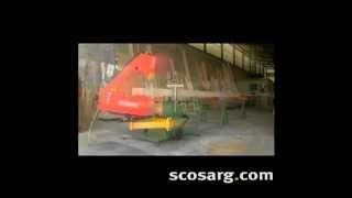 Sn33 Articulated Mobile Bandsaw | Scott+sargeant Woodworking Machinery| Scosarg.com