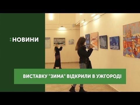 """В Закарпатському музеї відкрили виставку живопису """"Зима-2019"""""""