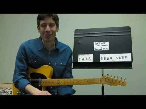 """Easy Guitar PLAY-ALONG Lesson : """"Get Off My Cloud"""" by The Rolling Stones !"""