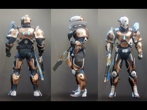 Destiny 2 Curse Of Osiris ALL KAIROS TITAN ARMOR