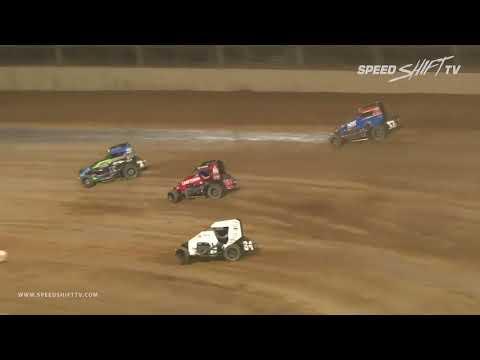 "USAC ""Indiana Midget Week"" Highlights   Lawrenceburg Speedway 6.2.18"