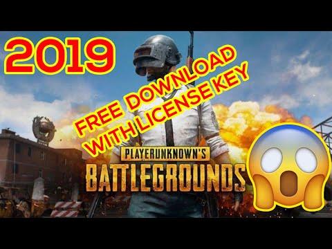 download pubg on pc/laptop  free license key
