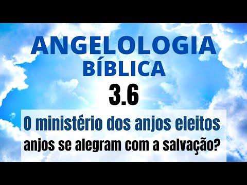 Aula 35 - Angelologia Biblica - O Ministério Dos Anjos Eleitos - Os Anjos Se Alegram Com A Salvação?