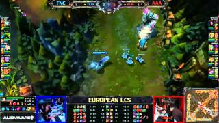 Fnatic vs. Against All Authority (русские комментарии) - LCS 2013 EU Spring W8D2