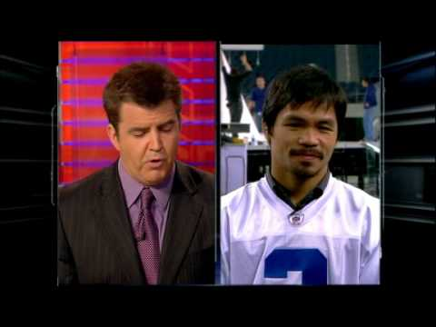 Brian Kenny and Manny Pacquiao Interview