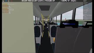 ROBLOX Bus Network Ride sur Hispano Habit Articulated Electric Bus On 4 Arena Park