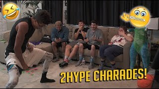 HILARIOUS 2HYPE HOUSE CHARADES CHALLENGE!