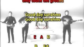 Good Day Sunshine Beatles Mizo Vocals  lyrics chords cover
