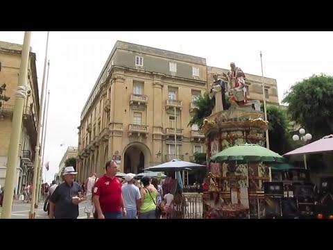 VLOG IN ITALIAN #10 - EXPLORING VALLETTA (MALTA)
