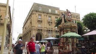 Vlog in Italian: exploring Valletta, Malta