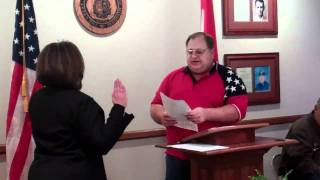 Texas County officials sworn in