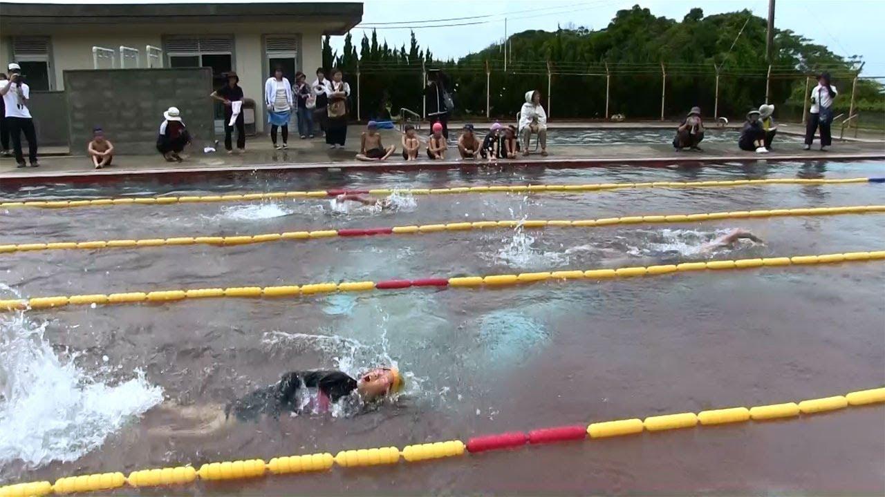 種子島の学校活動:岩岡小学校校内水泳大会2018年 [13:24x720p]