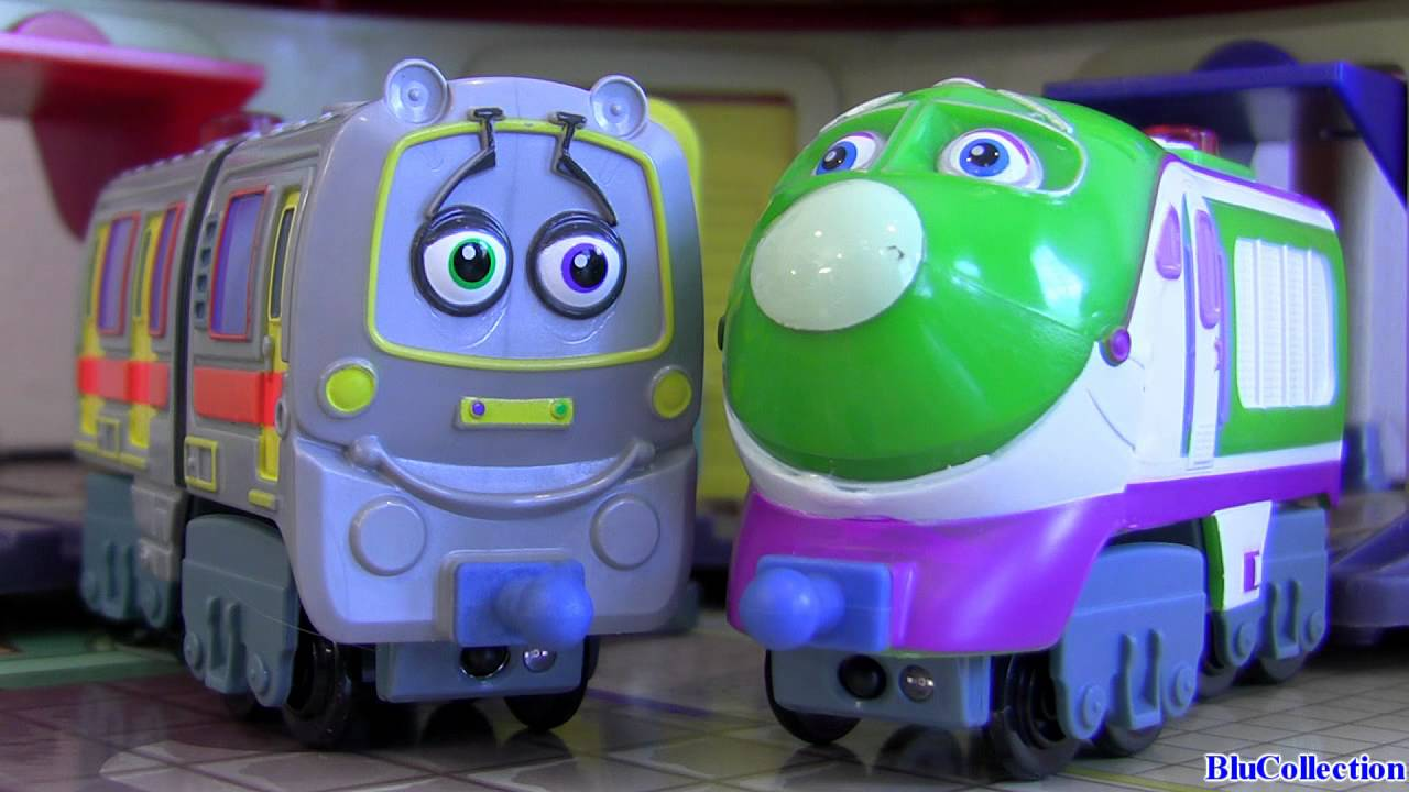 Chuggington Emery and Koko Interactive Railway talking ...