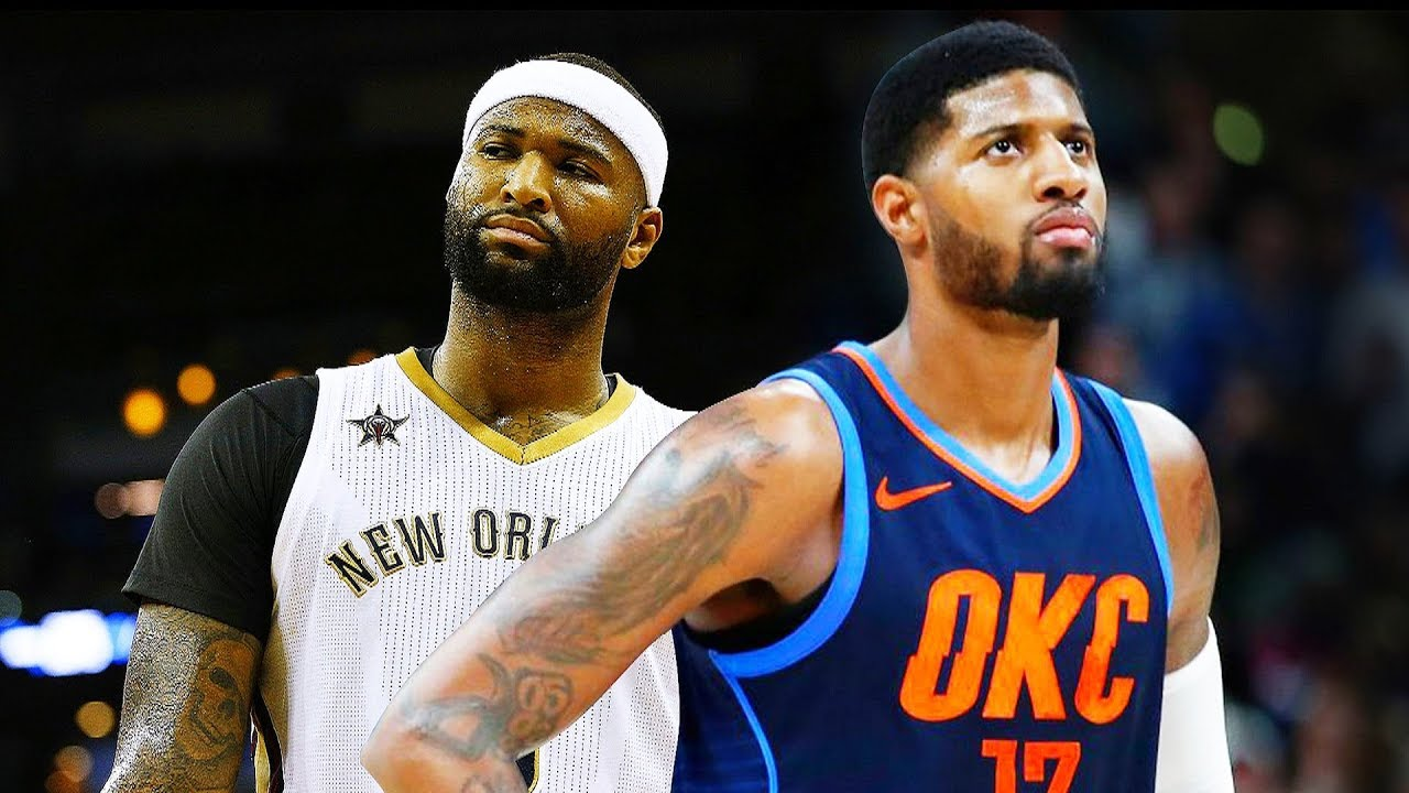 low priced 08155 5e614 Paul George Replaces DeMarcus Cousins on Team LeBron in the 2018 NBA  All-Star Game After Injury!