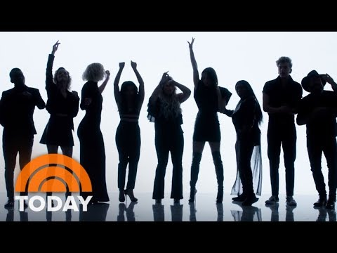 'Pitch Perfect 3' x 'The Voice' Full Music Video Mash Up Of 'Freedom! '90 x Cups' | TODAY
