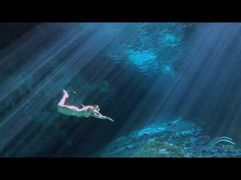 Nude cenote swim