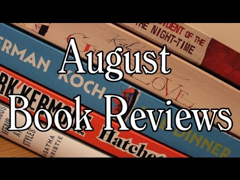 August Book Reviews