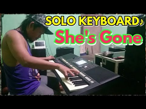 SteelHeart - She's Gone    Intro And Interlude The Best Solo Keyboard..!! Cover Hendro Butar2