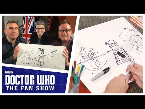 Download Youtube: Russell T Davies Draws Daleks, The Tenth Doctor & MORE! - Doctor Who: The Fan Show
