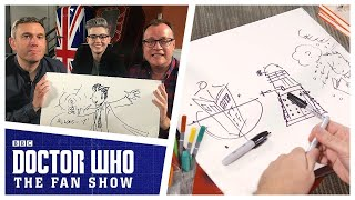 Russell T Davies Draws Daleks, The Tenth Doctor & MORE! - Doctor Who: The Fan Show