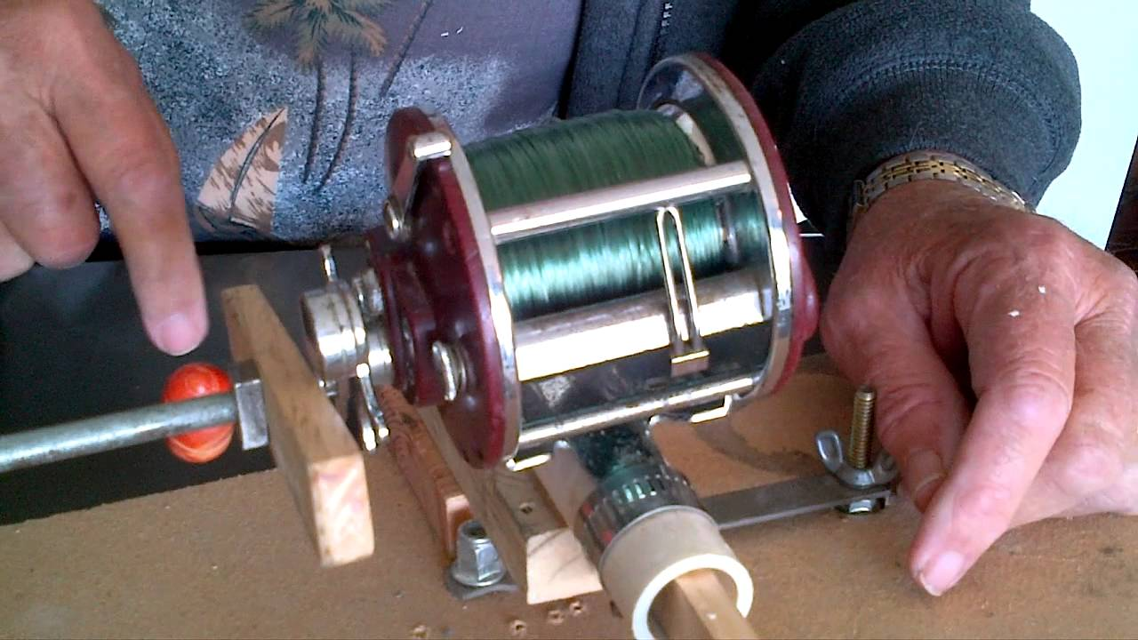 auto fishing rod reel loader - youtube, Reel Combo
