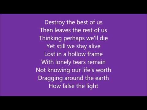 The gentle waves - falling from grace (lyrics)