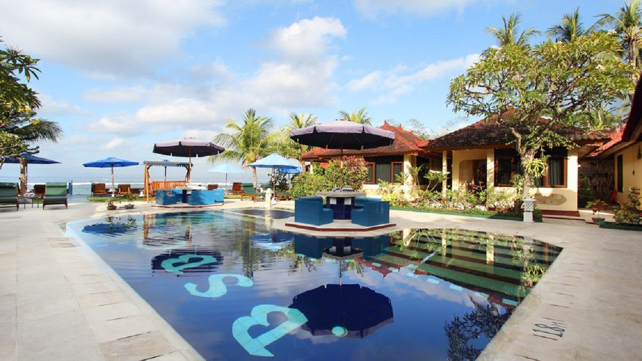 Hotel Bali Shangrila Beach Club Candidasa Room Tour Tur Cokelat 4