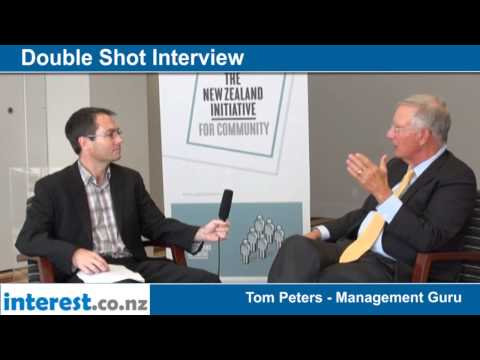 Double Shot Interview with Tom Peters; Management Guru