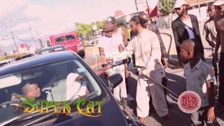SUPER CAT (don dada). , RETURNS TO JAMAICA IN YEARS.. WALKS THE STREET OF PORTMORE.. DSR UNDERGROUND