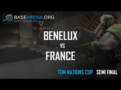 Base Arena - Quake Live TDM Nations Cup - Semi Final: Benelux vs France