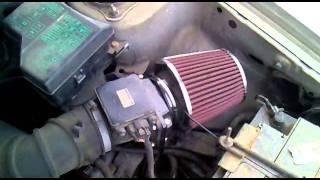 4G92 Mitsubishi 1.6 SOHC Induction sound - Loud