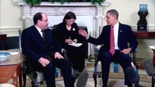 Consecutive Interpretation with president Obama