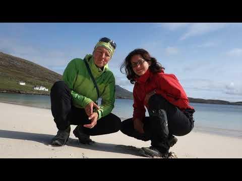 První pozdravení ze Skotska - ostrov Barra