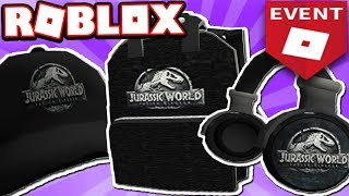 HOW TO GET THE JURASSIC WORLD ITEMS EASY!!! (Roblox Creator CHALLENGE Event 2018)