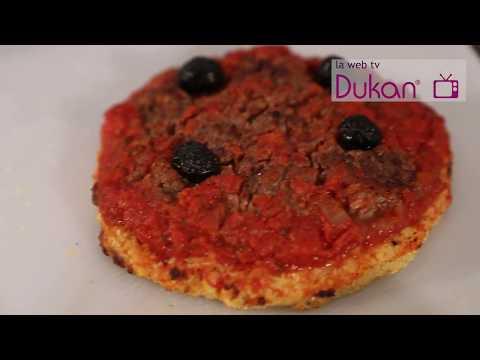 La Pizza Allégée Dukan (Recette Dukan)