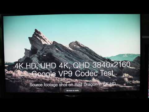 4K VP9 Video Playback With NEXBOX A5 Android TV Box