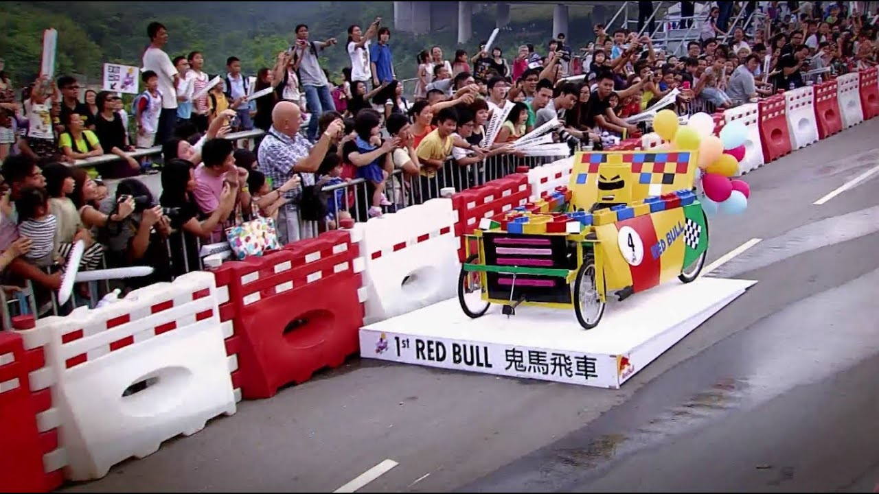 Red Bull Soap Box Derby >> Red Bull Soapbox Race 2012 Hong Kong - YouTube