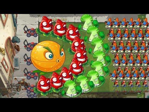 Plants vs Zombies 2 - Citron, Bonk Choy and Strawburst