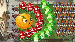 Plants vs Zombies 2 - Citron, Bonk Choy and Strawburst