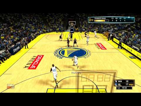 NBA2K13 : Full court pass goes in the basket