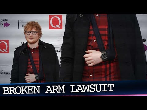 Ed Sheeran's Broken Arm at the Center of New Lawsuit Mp3