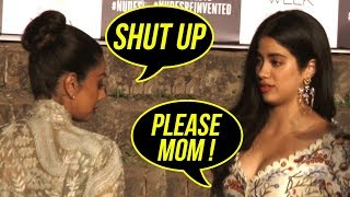 Video Sridevi SHOUTS at daughter Janvi Kapoor in Public | LFW | Jhanvi Kapoor download MP3, 3GP, MP4, WEBM, AVI, FLV April 2018