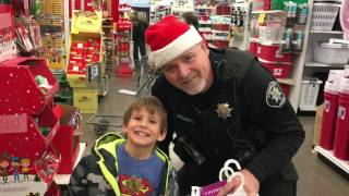 Shop With a Cop Cornelius Fred Meyer