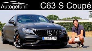 Mercedes C63 S AMG Coupé FULL REVIEW Facelift Mercedes-AMG C-Class - Autogefühl