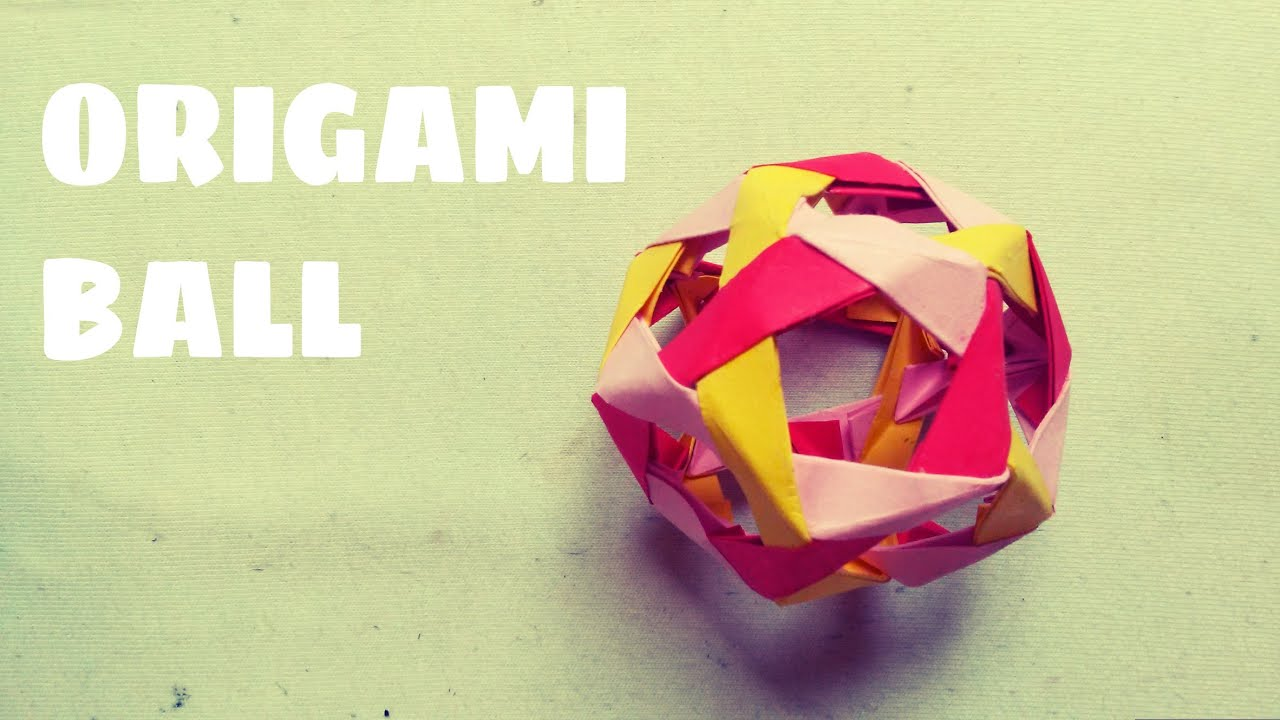 Origami Ball Tutorial - Origami Easy - YouTube - photo#24