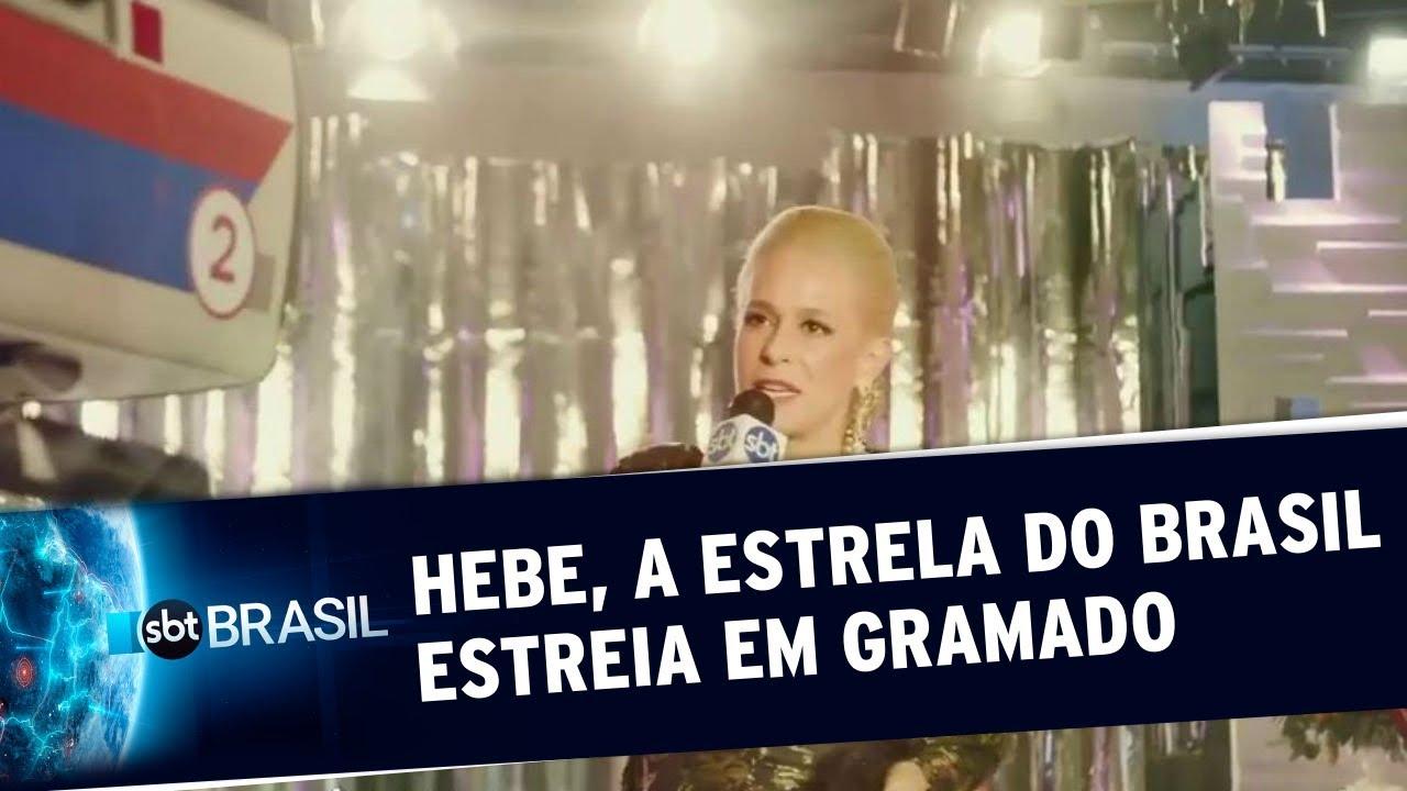 Filme que homenageia Hebe estreia no Festival de Gramado   SBT Brasil (22/08/19)