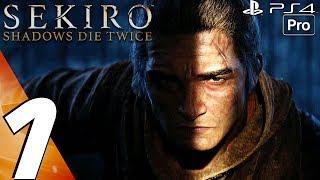 Sekiro Shadows Die Twice - Gameplay Walkthrough Part 1 - Prologue (Full Game) 100%