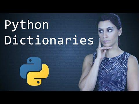 Python Dictionaries  ||  Python Tutorial  ||  Learn Python Programming
